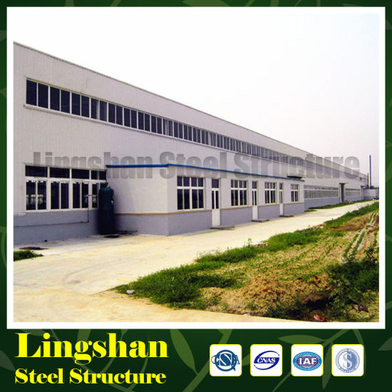 Corrugated Steel Sheet Cladded H Section Steel Metal Hangar pictures & photos