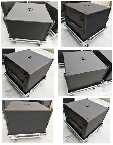 High Power Subwoofer Loudspeaker 18inch Neodymium Professional Empty Subwoofer Box pictures & photos