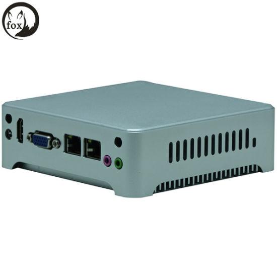 China Quad Core J1900 / I3/ I5 /I7 Fanless Intel Nuc PC