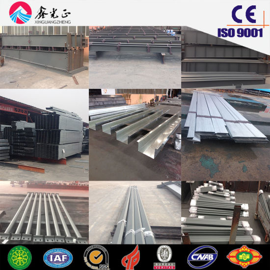 Steel Structure Prefab Building Materials Used Warehouse, Workshop (JW-16248)
