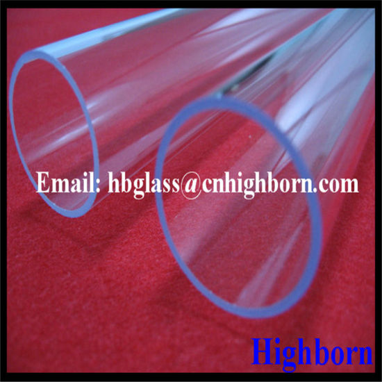 Heat Resistance Ozone Free Fused Silica Glass Tube pictures & photos