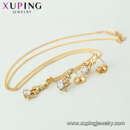 61269 2016 Popular 14K Gold Color Bridal Jewelry Pearl Set pictures & photos
