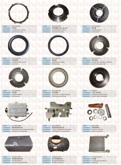 Sinotruk Spare Parts Rubber Hose (Vg12g00040038) pictures & photos