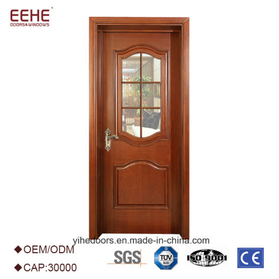 Solid Wood Glass Door Interior Design China Manufacturer China