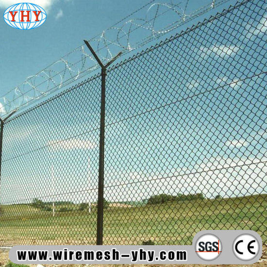 PVC Coated Outdoor Playground Fences Used for Protect Net