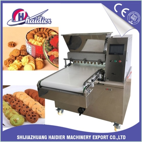 Automatic Wire Cut Biscuit Depositor Forming Machine for Different Cookies