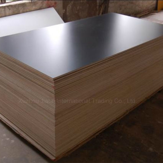 China Fenolico Triplay Black Film Faced Plywood For Concrete