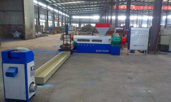 Double-Screw Screw Design and Sheet Application PP PE Film Foam Plastic Recycle Granules Machine