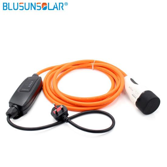 Auto Electrical Car Battery, Electric Car Cable Type 1 Mennekes IEC 62196 16A 5meter Charging Station EU/UK/Au Plug