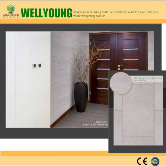 Bedroom Floor Tiles Wood Embossed Waterproof Wall Tiles pictures & photos