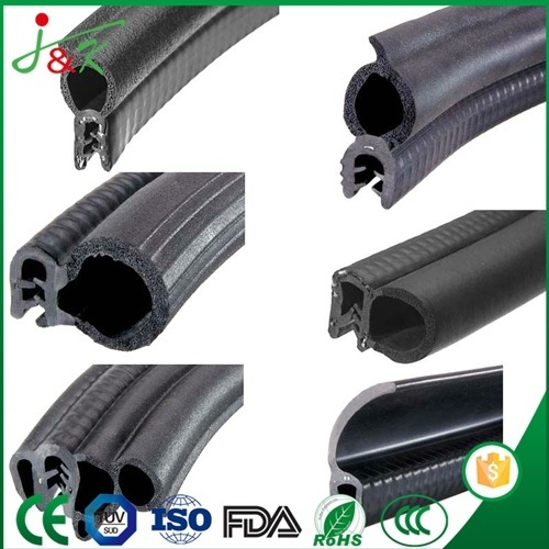 Ts16949 Black EPDM Rubber Door Seal Gasket for Container