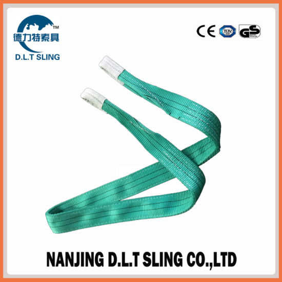 a11a06090f9 China 2t Webbing Sling with Eye-Eye Loops Ends Lifting Sling - China ...