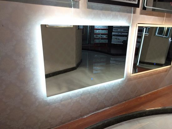LED Smart Mirror with Lights in Bathroom