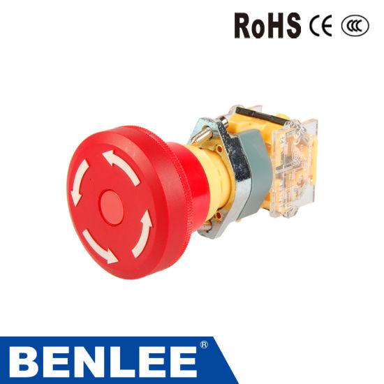 50mm Emergency Stop Pushbutton Switches