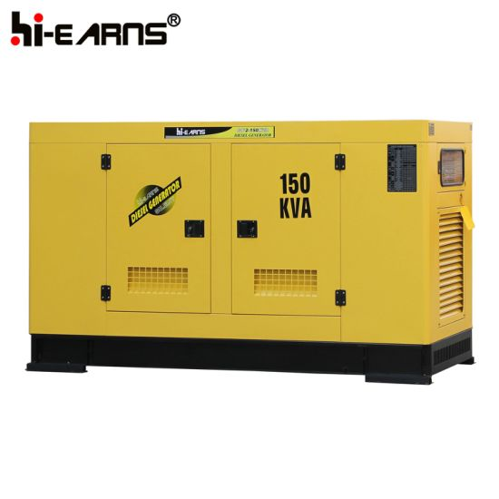 150kVA Silent Water Cooled Diesel Generator Set (GF2-150kVA) pictures & photos
