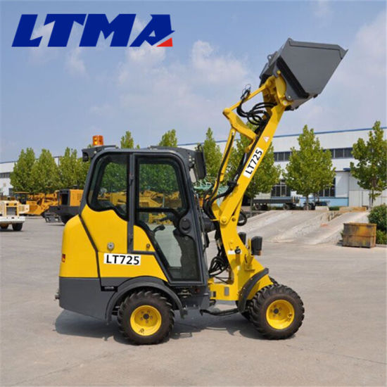 Best Quality New Loader Price 0.8t China Mini Wheel Loader pictures & photos