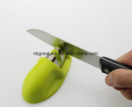 China 2 Stage Professional Kitchen Knife Sharpener China Rod Knife