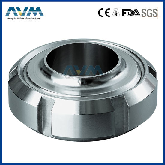Sanitary Stainless Steel Complete SMS Union (male+nut+liner+seal)