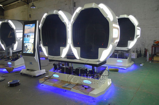 Wangdong 3 Dof Electric Platform Virtual Reality 9d Vr Simulator pictures & photos