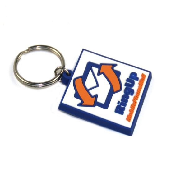 2018 Funny Custom Logo Rubber Keychain for Promotional pictures & photos