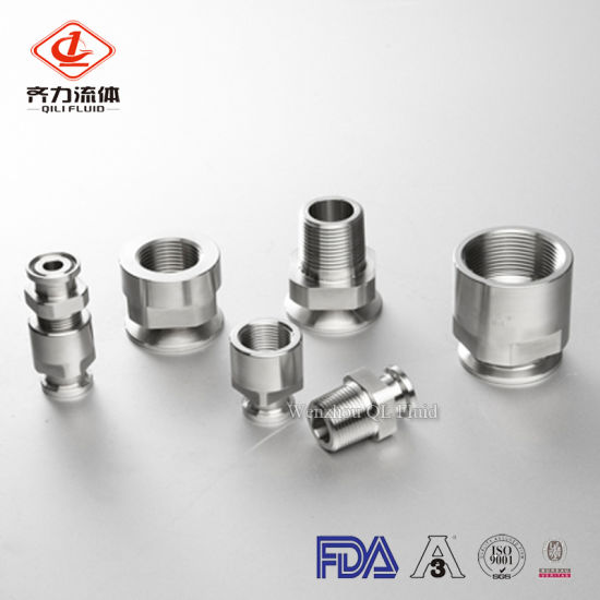 Sanitary Pipe Fitting Male/Female Adapter