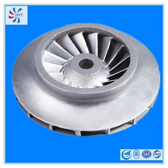 304 Stainless Steel Pump Impeller for Mechanical Accessories pictures & photos