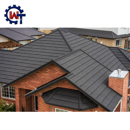 China Wante Brand Stone Coated Zinc Roof Tiles Zimbabwe China Roof Tiles Metal Roof Tiles
