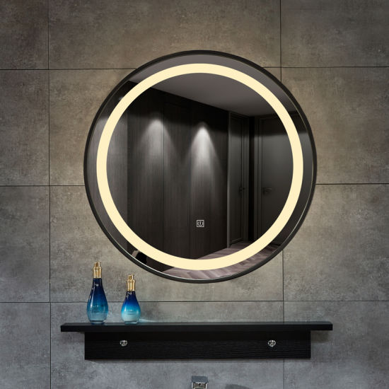 China Bathroom Mirror With Lights Around It China Led Mirror Defogger Led Mirror
