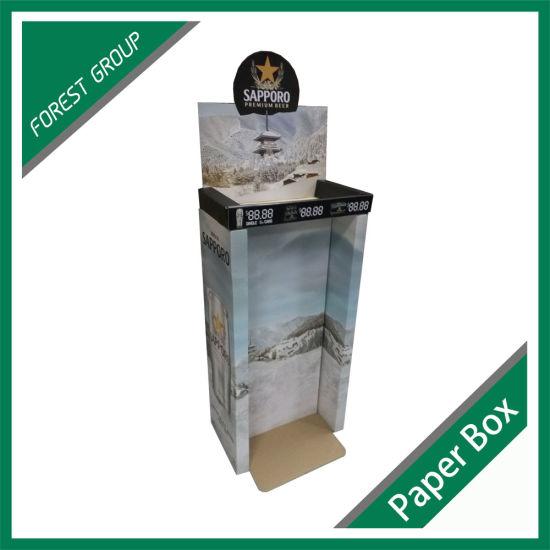 Custom Corrugated Display Rack Box for Beer