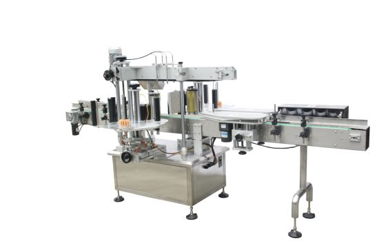 Sales Fixed Point Labeling Machine for Round Bottles pictures & photos