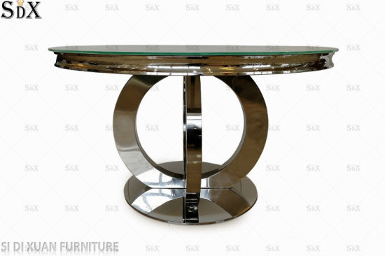 Orion Design Round Table Stainless Steel Dining Furniture Dining Table