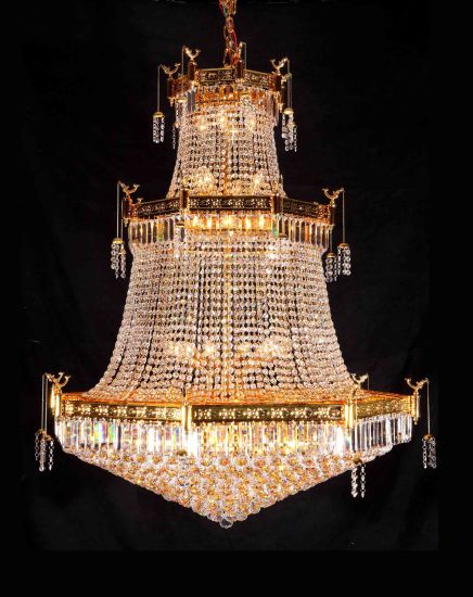 Luxury Modern Crystal Chandelier Lamp (90403 L15) pictures & photos