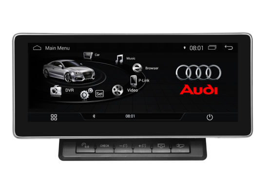 China Carplay Anti-Glare Android 9 0 Car Stereo for Audi A6