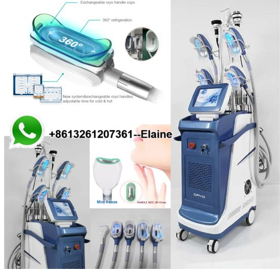 Double Chi Cryo Cup Fat Freezing Cryolipolysis 5 Cryocup Lipo Laser Body Sculpting