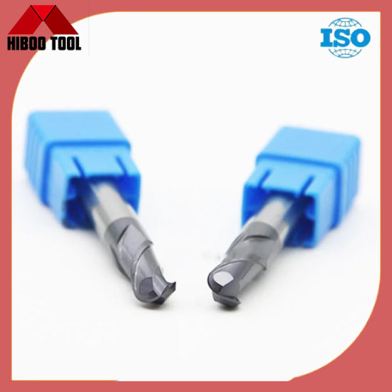 Solid Tungsten Carbide End Mill Ball Nose Milling Cutter