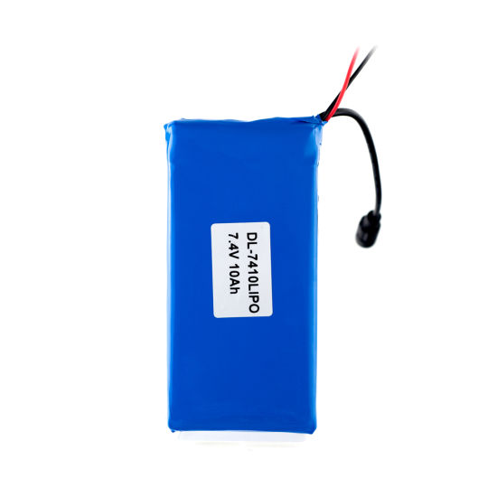 7.4V 10ah Rechargeable Lipo Battery Lithium Polymer Battery Pack pictures & photos