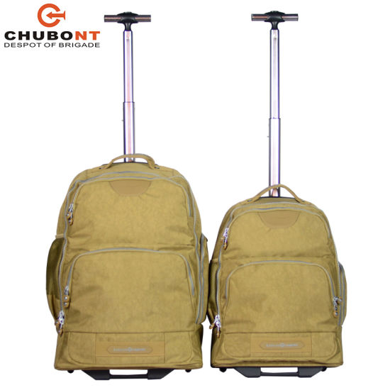 Chubont Washing Cloth Backpack Trolley with USB Cable