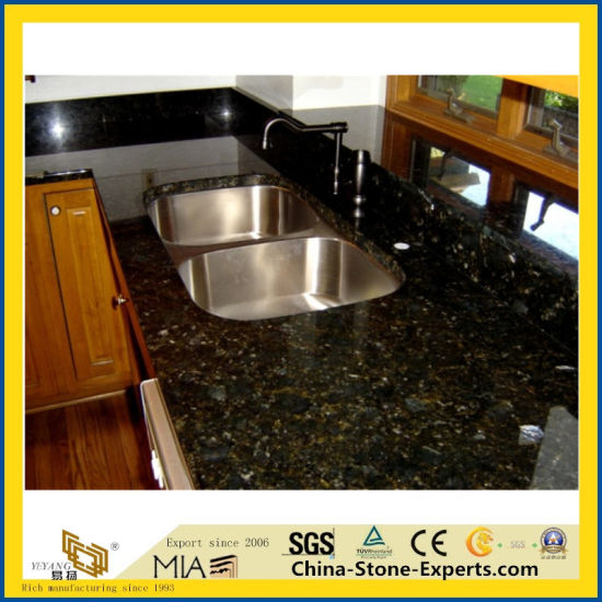 China Butterfly Green Granite Countertop China Butterfly Green