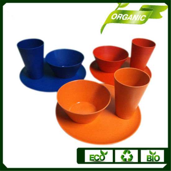 Dinner Set Tableware Set Biodegradable Bamboo Bowl/Coffee Cup/Plate pictures & photos