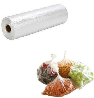 Plastic Produce Bag for Supermarket / Clear Bag / Shopping Bag