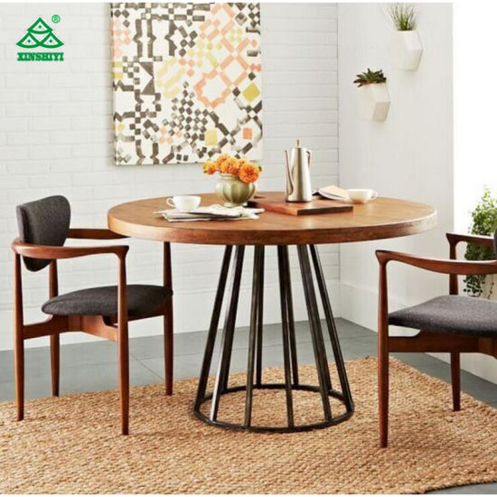 7e1c7eb9fb8c China Hot Sale Modern High Quality Round Wood Dining Table Coffee ...