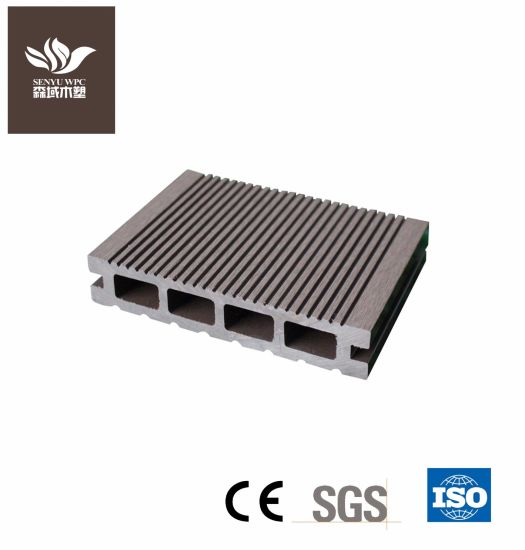 Outdoor WPC Wood Plastic Composite Decking with Ce