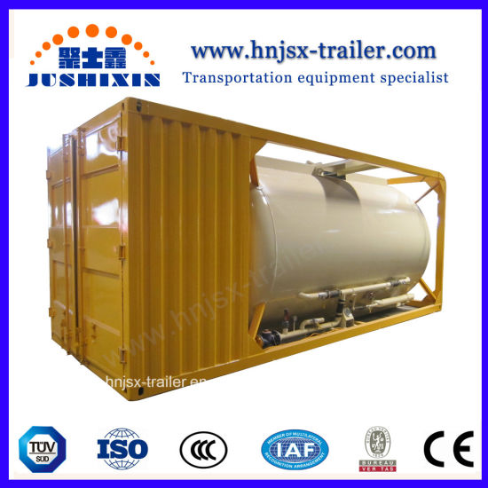 20FT 40FT Bulk Cement/Flour/Coal/Plaster Storage Frame Chassis Powder Tank Container  sc 1 st  Henan Jushixin Transportation Equipment Co. Ltd. & China 20FT 40FT Bulk Cement/Flour/Coal/Plaster Storage Frame Chassis ...