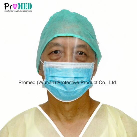Mask Disposable Protective Face Eye Shield Proof Eyeshield Mask With Anti-fog Surgical Nonwoven Eyeglass Splash