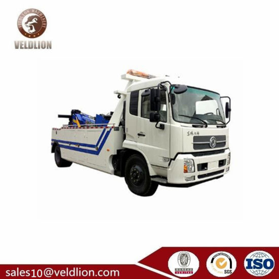 Tianjin 10ton Tow Truck, Traffic Accident Use, Road Recovery Truck Vehicle pictures & photos