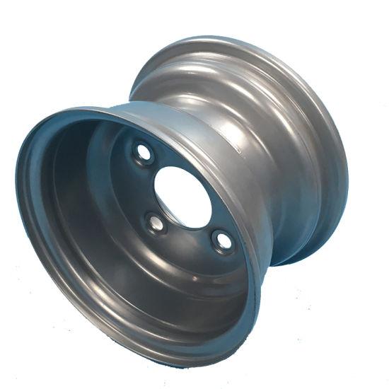 8X5.5 Golf Cart Steel Wheel Rim