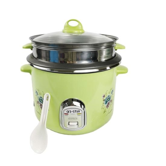 Qitai Stainless Steel Inner Pot Electric Rice Cooker Microwave