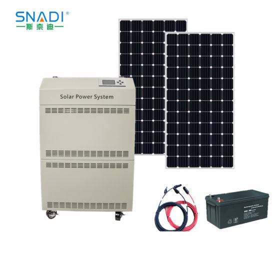 2000W AC & DC Solar Power System for Generator
