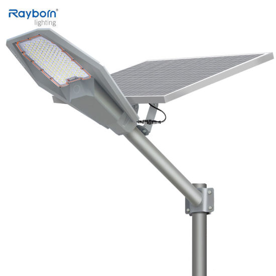 Outdoor Solar Lithium Iron Battery 100W 200W 300W 400W Integrated All in One Solar LED Street Light for Public Area Road Wall Garden Park Solar Flood Lighting
