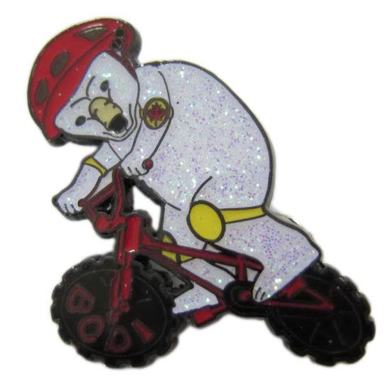 Hot Sale Printing Logo Wooden Pin Badge Wholesale Metal Enamel Lgbt Pin Badge (129)